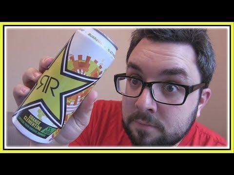 Rockstar First Start Energy Orange & Clementine Review