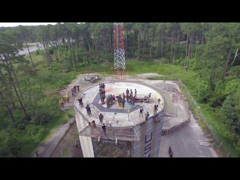 Marine Corps Boot Camp Rappel Tower