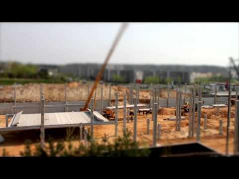 Timelapse Construction: Norfa supermarket