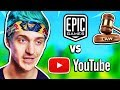 Ninja Reacts to Epic Games SUING Cheating Youtubers | Fortnite Daily Funny Moments Ep.225