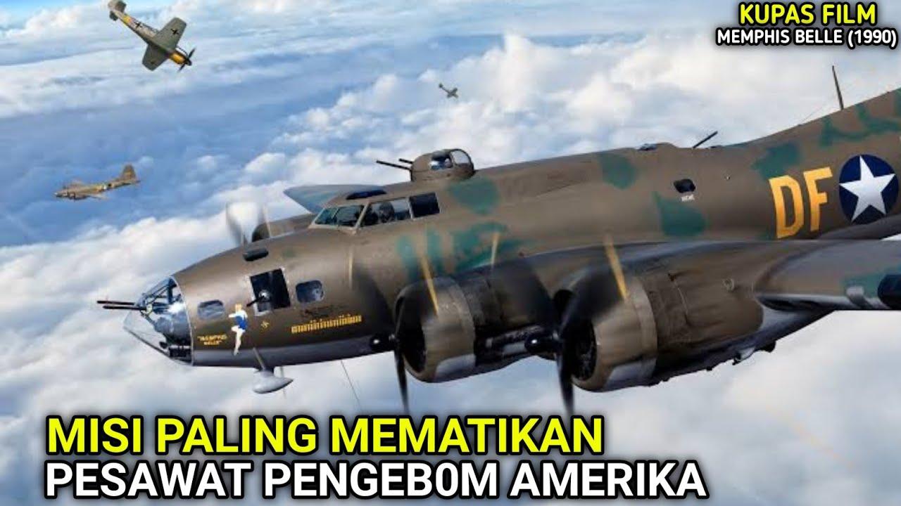 MISI PALING MEM4TIKAN PESAWAT PEMB0M LEGENDARIS AMERIKA DI P3RANG DUNIA 2    KUPAS FILM