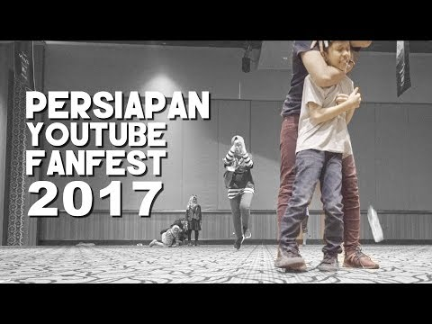 Gen Halilintar Latihan Youtube Fanfest 2017