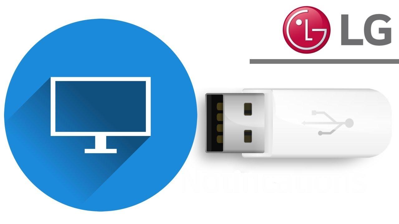 LG Tv won't recognise USB flash drive - FIX