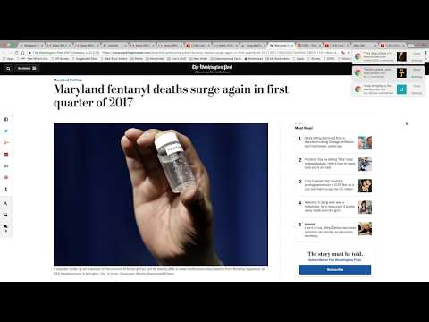 Fentanyl Related Deaths Going Through The Roof In Maryland