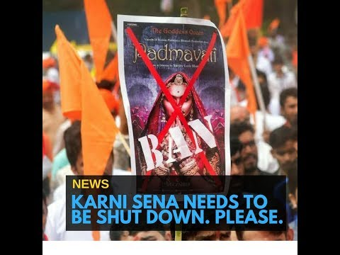 Karni Sena has been dictating laws in our country now