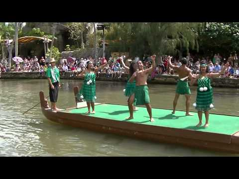 Polynesian Cultural Center July 2014 - Canoe Pageant