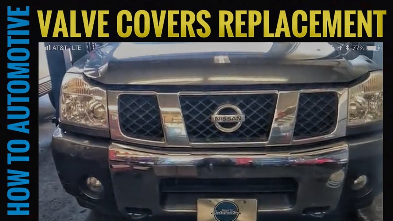 How to replace the valve covers on a 2004 2010 nissan armada youtube how to replace the valve covers on a 2004 2010 nissan armada vanachro Image collections