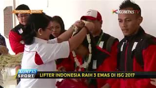 KOI Apresiasi 3 Medali Emas Tim Pelatnas Angkat Besi