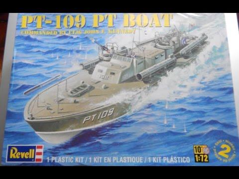 Revell 1/72 PT-109 (JFK's PT Boat) - Inbox Review