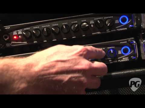 NAMM '12 Gallien-Krueger  MB Fusion 800 Demo