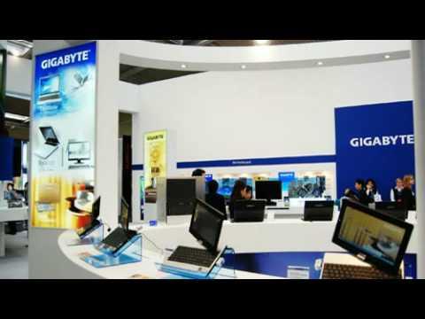GIGABYTE CeBIT Photo Gallery!