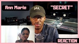 "Ann Marie Feat. YK Osiris ""Secret""  REACTION"