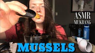 MUSSELS   ASMR MUKBANG Relaxing Eating Sounds