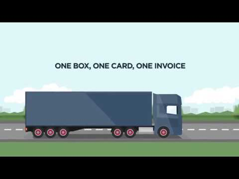 Circle K EETS Toll Box - One box, one card, one invoice