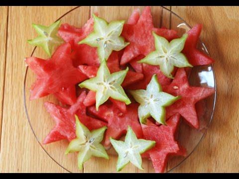 2 часть  Как красиво нарезать фрукты Фруктовый мастер-Fruitm