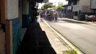 Incendio San Miguel El Salvador