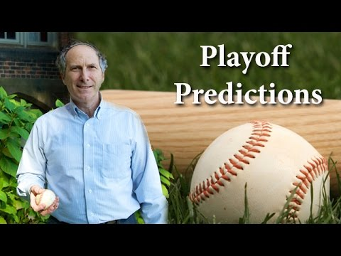 Major League Baseball Playoff Predictions 2014 - Bruce Bukiet