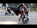 Top 5 Most Daring Motorcycle Street Stunts