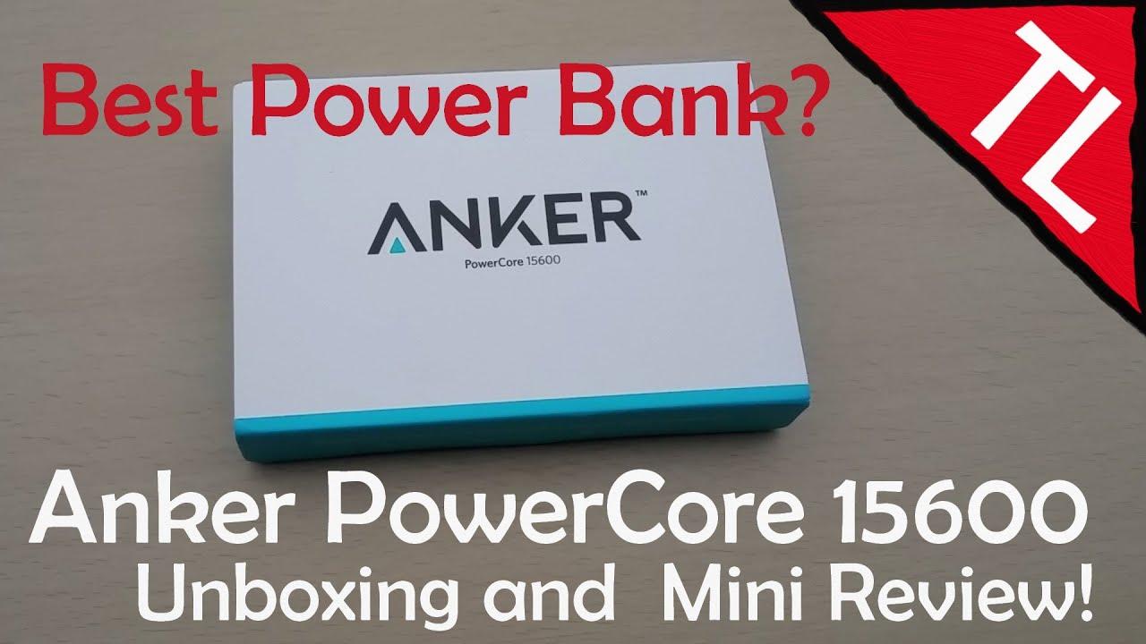 Anker PowerCore 15600 Super High-Capacity Fast-Charging