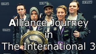 Alliance Journey in The International 3 [MOVIE] Dota 2 - by widdz