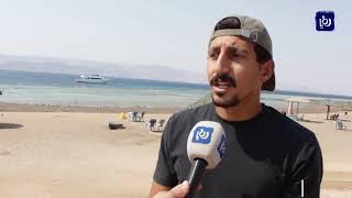 كرم زريقات.. صاحب مبادرة ذاتية بتنظيف شواطئ العقبة من أعقاب السجائر - (4-9-2019)