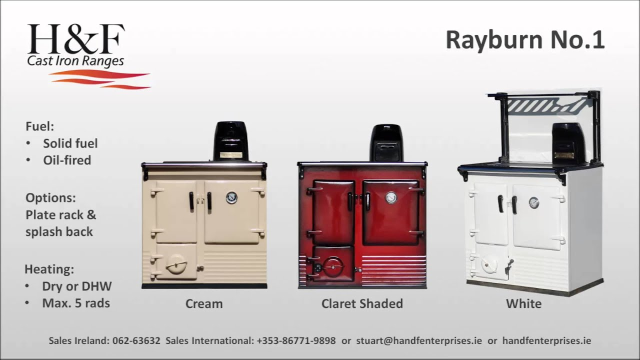 Reconditioned Rayburn Cookers - YouTube
