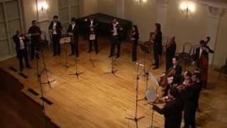 Bartok Divertimento played by I Solisti Di Zagreb, 3rd movement
