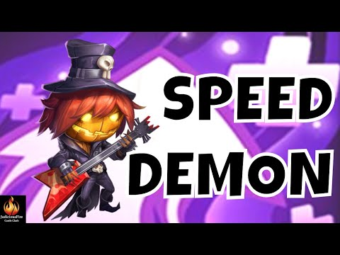 Pumpkin Duke MAX STACKS Castle Clash Best Heroes