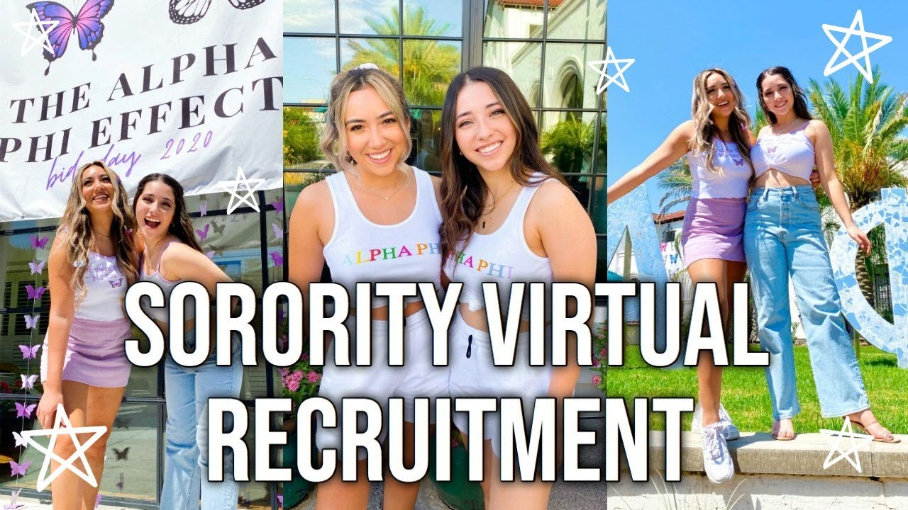 SORORITY VIRTUAL RECRUITMENT VLOG!! // UNIVERSITY OF ARIZONA!! FT. DOSSIER