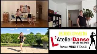 Vidéo de l'Atelier Danse de Seb et Sandra à Mâcon : Défi N°2