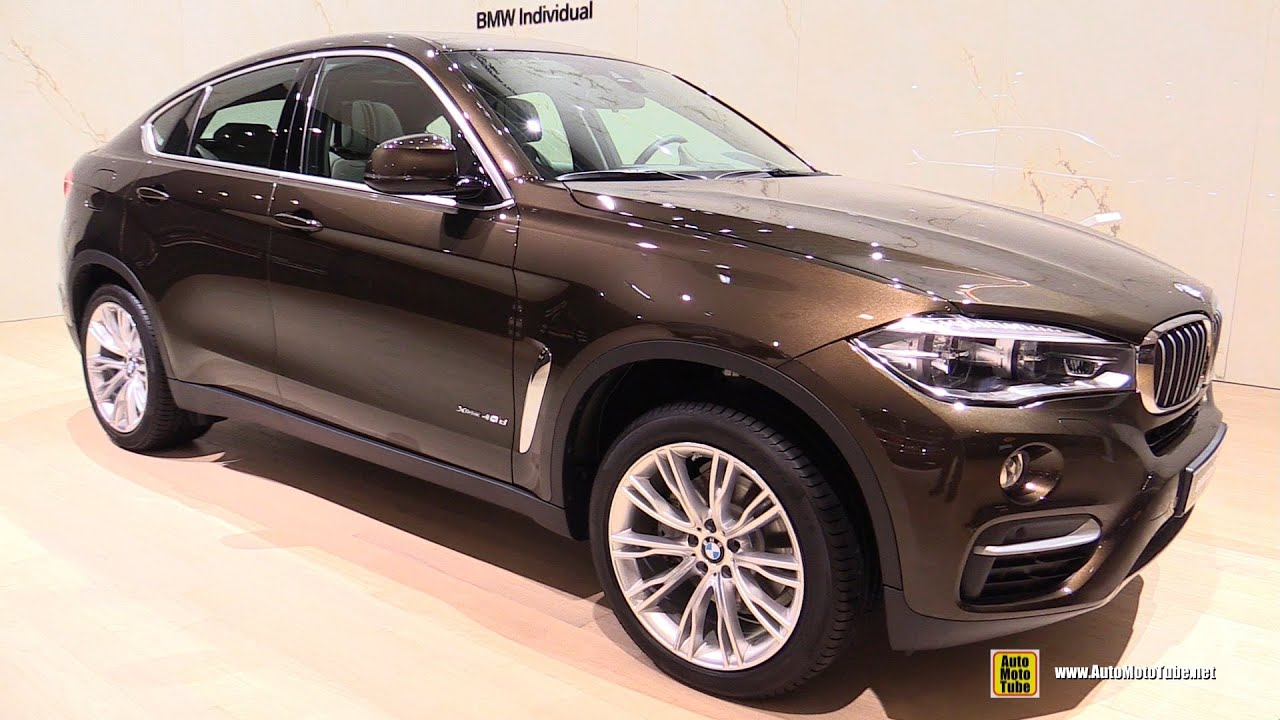 2016 bmw x6 xdrive 40d individual exterior and interior walkaround 2015 frankfurt motor show. Black Bedroom Furniture Sets. Home Design Ideas