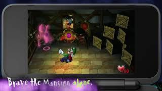 Luigi's Mansion - Not-So-Spooky Trailer