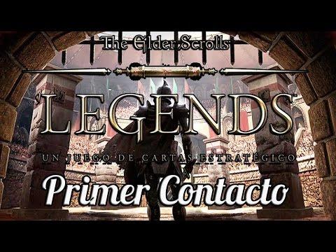THE ELDER SCROLLS: LEGENDS – Primer Contacto e Impresiones | Fase Beta | Gameplay Español