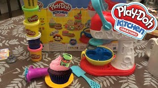 PLAYING PLAY DOH KITCHEN CREATIONS // tony12plays