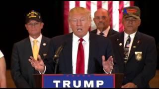 Trump arremete contra la prensa