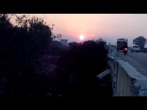 Sunset at meerut