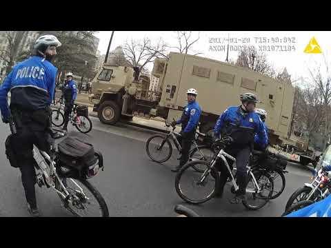 "Inauguration Day Riot ""J20"" Trial - Gov Ex. 123n: Bike Officer Bodycam Footage"