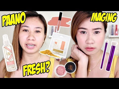 HOW TO LOOK FRESH KAHIT STRESSED?! ft. Ellana Cosmetics  + GIVEAWAY!!