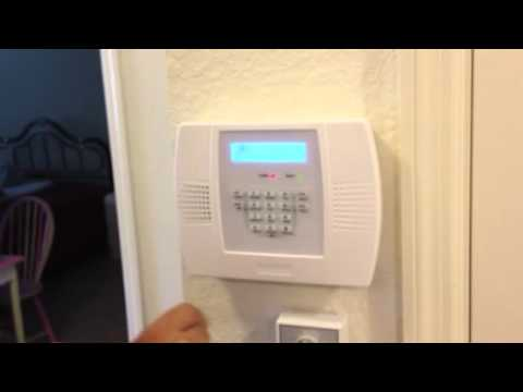 how to program a honeywell wireless door sensor youtube. Black Bedroom Furniture Sets. Home Design Ideas