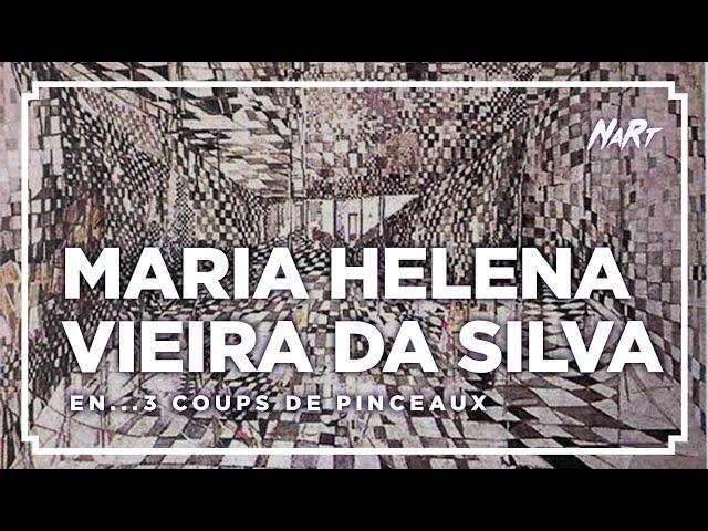 3 coups de pinceau : MARIA HELENA VIEIRA DA SILVA