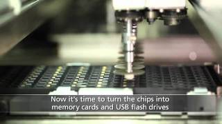 Baixar Fabricação de memória  e pen drives - Lexar