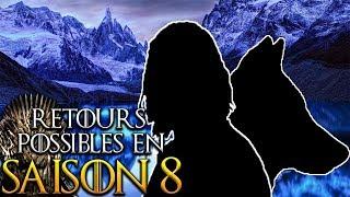10 retours possibles dans la Saison 8 Game of Thrones