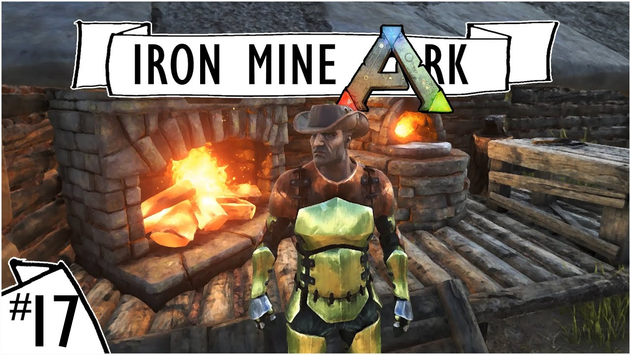 Ark survival evolved ep 17 blacksmith build on craggs ark survival evolved ep 17 blacksmith build on craggs island ironmine server lets build youtube malvernweather Choice Image
