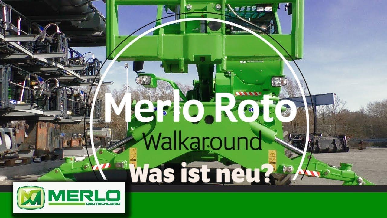 Merlo Roto: Die Neuen kommen (Walkaround & Werkstatt-Blick / Vorschau bauma 2019)