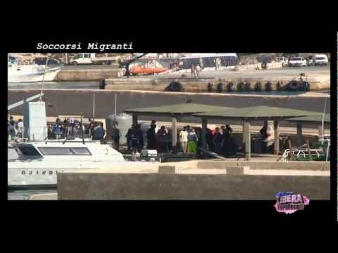 Lampedusa Migranti Soccorsi - No allarmismi sbarchi - Sindaco Nicolini