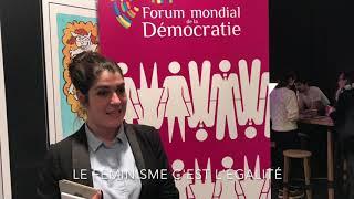 Forum Mondial de la démocratie: Femmes et Web partie 3