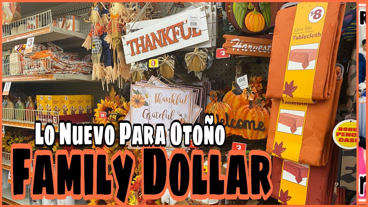 🛍 VAMOS DE SHOPPING! LLEGO OTOÑO A MI FAMILY DOLLAR! COCINA CONMIGO/MINI COMPRAS PARA OTOÑO 🍂