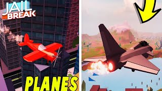 🔴JAILBREAK NEW UPDATE COMING!  NEW STUNT PLANE,FIGHTER JET!,AND MORE!   Roblox Live Stream🔴