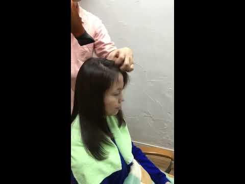 東大宮の美容院、ツヤ髪美容室プレジールのツヤツヤエステでツヤ髪3