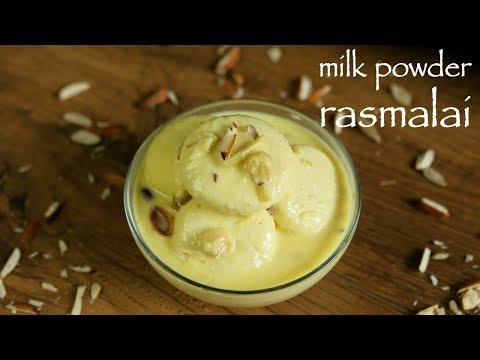 Rasmalai Recipe With Milk Powder - Eggless Milk Powder Rasmalai Recipe